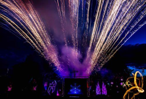 Fotoserie Event Feuershow