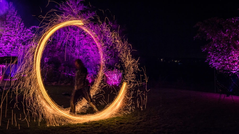 Prachtvolle Feuer- & Flammenshow in Nürnberg