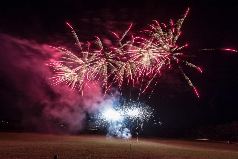 Feuerwerk der Sinne